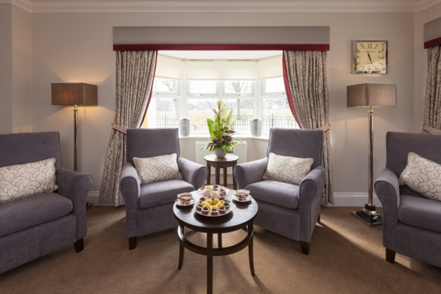 Care Home Living Room Design